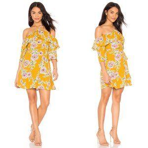 Cupcakes&Cashmere Fonda Off Shoulder Floral Dress